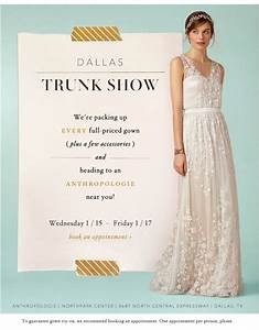 bhldn trunk show at dallas northpark center hitched With wedding gown trunk shows