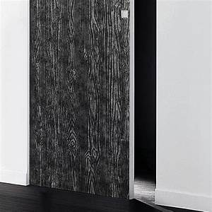 wallface 14806 wood design sheet wallcovering decor plate With markise balkon mit schwarz silber tapete