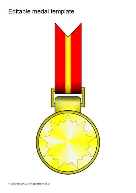 editable medal templates sb sparklebox