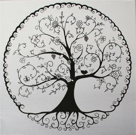 arbre de vie nb tattoosideas   tatouage arbre de