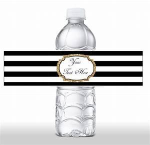 10 blank water bottle label templates free printable for Blank water bottle label template