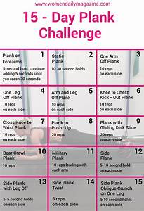 Get Your Body I... Plank Challenge