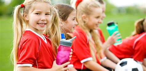 most children and athletes play sports to 739 | girls play soccer for fun