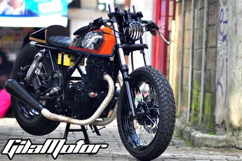 Modifikasi Motor Sanex 250cc Modif Kastem by Suzuki Thunder 250 Japanese Hornet Gilamotor