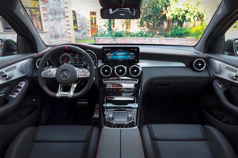 Interior is futuristic and the handling and safety future of this car is one of the best you can get on this price range. 2021 Mercedes-Benz AMG GLC 43 Coupe Interior Review ...