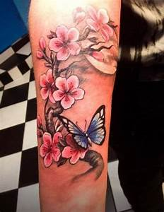 94 Cherry Blossom Tattoo Designs That Will Reveal Your Elegant and Unique Style