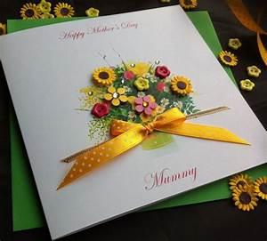 "Handmade Mother's Day Card ""Spring Flowers"" - Handmade ..."