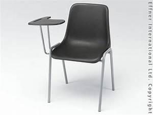 Stuhl Mit Schreibplatte : classic co stuhl mit schreibplatte schwarz kunststoffst hle st hle stuehle online ~ Frokenaadalensverden.com Haus und Dekorationen