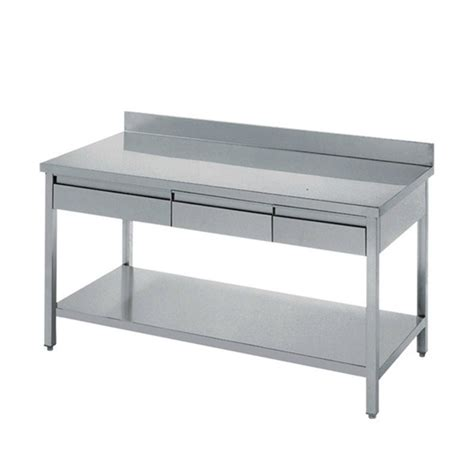stainless steel kitchen work tables india stainless steel industry kitchen work table drawers work