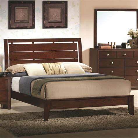 Crown Headboard by Crown Evan Bed With Headboard Cutouts Wayside