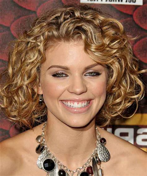 curly short hairstyles   faces fave