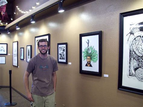 This is a 4min documentary about the grind coffee house in cedar city utah; Chip Wiggin -- INK BIG studio: New Art Show at The Grind Coffee House