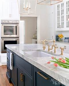 best 25 navy blue kitchens ideas on pinterest navy With kitchen colors with white cabinets with navy and gold wall art