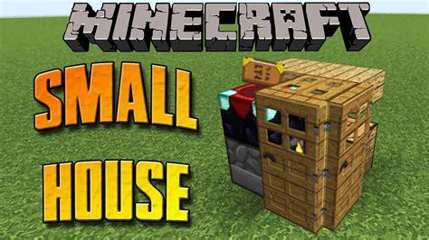 la casa piu piccola di minecraft