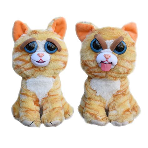 plush pet feisty pets tongues out thinkgeek