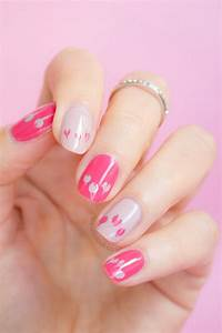 Pink Valentines Day Nails With Orly First Blush