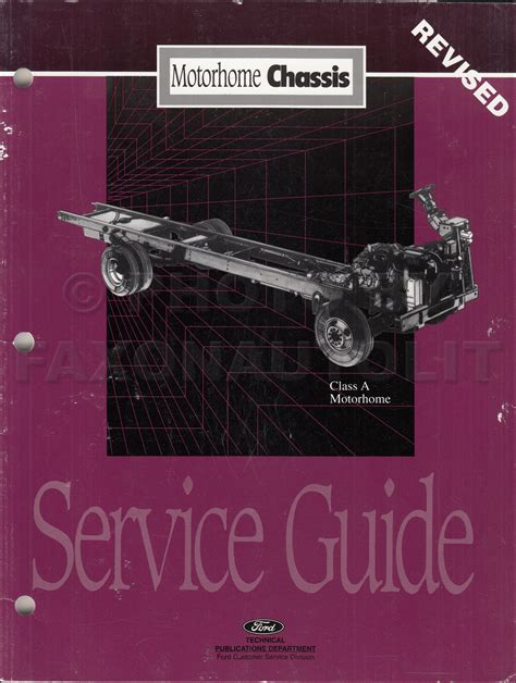 motor auto repair manual 1996 ford f series seat position control 1996 ford f53 motorhome chassis electrical troubleshooting manual original