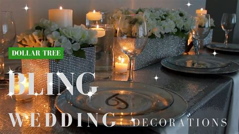 diy wedding decorations dollar tree diy bling