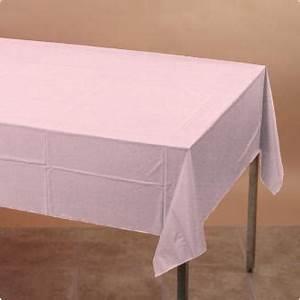Nappe Rose Pale : nappe 137 x 274 cm rose p le prix minis sur ~ Teatrodelosmanantiales.com Idées de Décoration