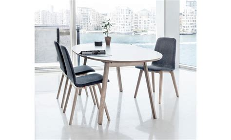They're available in different colours, finishes. SM20 Extendable Dining Table - Danish Design Co