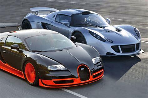 Bugatti Veyron 16.4 Super Sport Gegen Hennesey Venom Gt