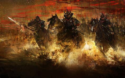 Samurai warrior fantasy art artwork asian wallpaper ...