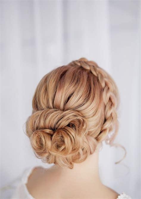 coiffure mariage chignon bas tresse coiffure mariage tresse 35 photos merveilleuses pour vous