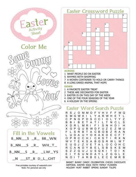 simplicity free easter printables coloring pages and more