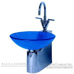 lagoon blue bathroom sinks blue glass sink blue sink