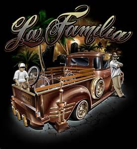 Chicano Lowrider Art Drawings