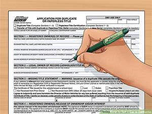 How to sell a car in california 10 steps with pictures for Dmv documents needed