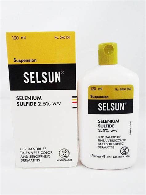 Selsun Selenium Sulfide Shampoo 120 Ml