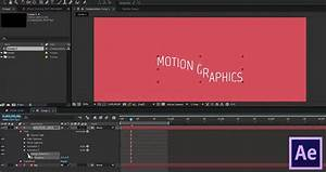 basic text animation in after effects creating a smooth With adobe after effects text animation templates