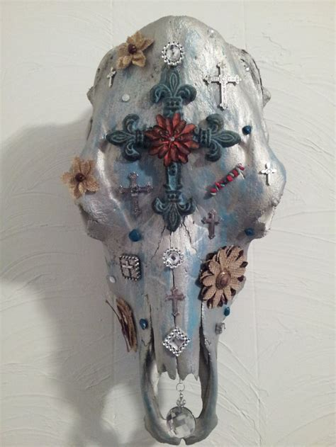 Decorated Cow Skulls by Decorated Cow Skull Cow Skulls