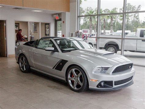 ford mustang gt roush convertible  sale