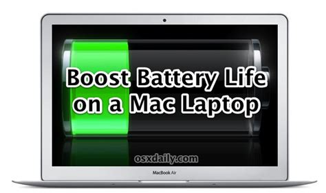 11 tips to get the absolute best battery on a mac laptop