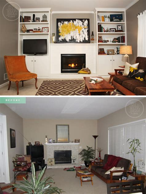 Living Room Makeovers Before And After Pictures by Tuesday Tips Living Room Makeover On A Budget The Gold