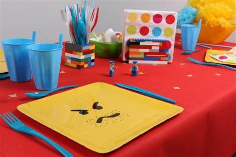 table danniversaire sur le theme lego mesa bella blog