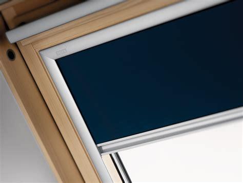 Store Occultant Dkl Bleu En Toile Polyester Pour Fenêtre