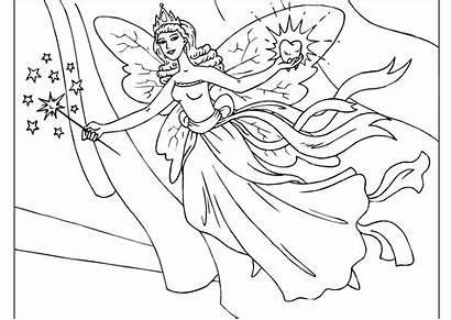 Fairy Coloring Pages Printable Updated
