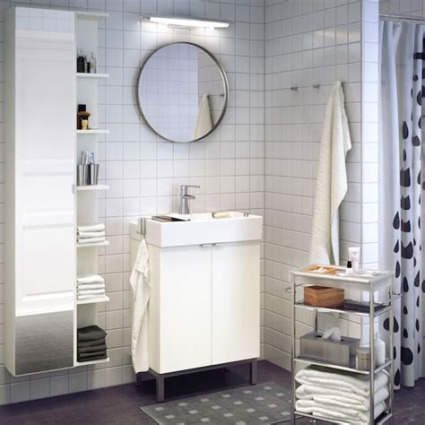 meubles de salle de bain  decoration ikea