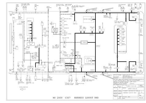 Ford Focu Wiring Diagram Mk1 by Ford Focus Mk2 2009 Wiring Diagram Service Manual