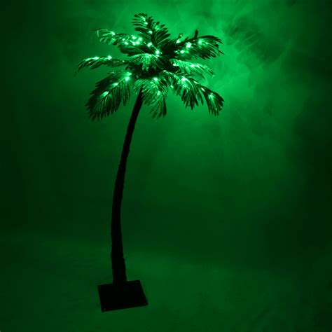 led lighted palm tree artificial 5 feet