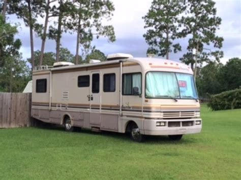 Motor Boat Homes by 1992 Fleetwood Bounder Motor Home 17 Sunbird Boat With
