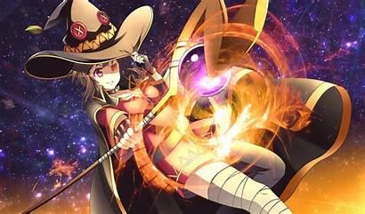 Konosuba Wallpapers Megumin Anime God Wonderful Blessing