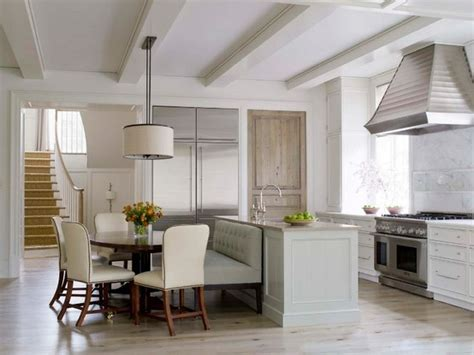 kitchen settee banquettes how to get the look with a sofa loveseat or