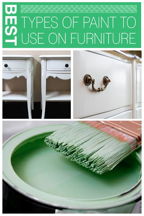 best paint to paint furniture the best types of paint to use on furniture