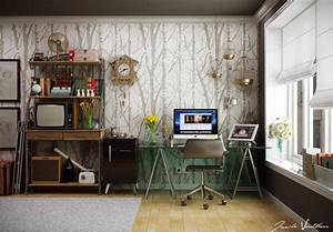 How to choose the best home office computer desk for the for Cozy contemporary home office