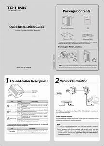 Tp Link Av600 Users Manual Tl Pa6010 Eu  A