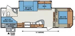 Montana 5th Wheel Bunkhouse Floor Plans by Rv Floor Plans Rv Floor Plans Google Search Route 66